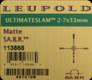 Leupold - Ultimate Slam - 2-7x33mm - Matte - SA.B.R.
