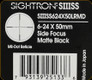 Sightron - SIII SS - 6-24x50mm - Matte - SF - Long Range Mildot