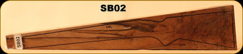 Stock Blank - Rifle Stock - Grade 5+ New Zealand Walnut - SB02