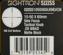 Sightron - SIII SS - 10-50x60mm - Matte - SF Tactical Knob - Mil-Dot Reticle