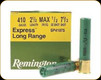 "Remington - 410 2.5"" - 1/2oz - Shot 7.5 - Express Long Range - 25ct - 20747"