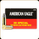 Federal - 38 Special - 158 Gr - American Eagle - Lead Round Nose - 50ct - AE38B