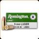 Remington - 9mm Luger - 115 Gr - UMC - Full Metal Jacket - 50ct - 23728