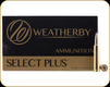Weatherby - 338-378 Wby Mag - 250 Gr - Select Plus - Nosler Partition - 20ct - N333250PT