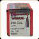 Hornady - 270 Cal - 110 Gr - V-Max - BT w/ Cannelure - 100ct - 22721