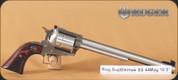 "Ruger - 44Mag - New Model Super Blackhawk Standard - Single Action Revolver - Hardwood Grips/Stainless, 10.5""Barrel, Mfg# 00806"