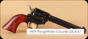"Heritage - Rough Rider - 22LR - Bl, Cocobolo grips, 6.5"""