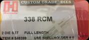 Hornady - Full Length Dies - 338 RCM - 546399