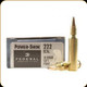 Federal - 222 Rem - 50 Gr - Power-Shok - Jacketed Soft Point - 20ct - 222A