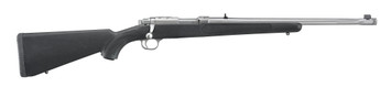 """Ruger - 357Mag -  Model 77/357 - Bolt Action Rifle - Black Synthetic Stock/Stainless Steel, 18.5""""Barrel, 5 Rounds, Threaded Muzzle Mfg# 07419"""