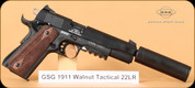 GSG - 22LR - 1911 - Walnut Tactical