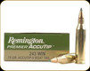 Remington - 243 Win - 75 Gr - Premier Accutip-V Boat Tail - 20ct - 29194