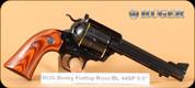"""Ruger - 44Spl - Blackhawk Bisley Flattop - Rosewood/Blued, 5.5""""Barrel, Built on 357 frame, Mfg# 05235"""