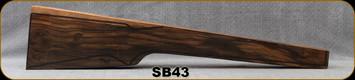 Stock Blank - Rifle Stock - Grade 5+ New Zealand Walnut - 741 - SB43
