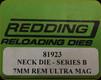 Redding - Neck Sizing Die - 7mm Rem Ultra Mag - 81923