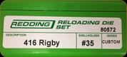 Redding - Full Length Sets - 416 Rigby - 80572