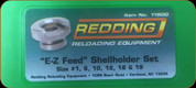 Redding - EZ-Feed Shellholder Set (1, 6, 10, 12, 18, 19) - 11900