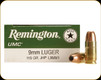 Remington - 9mm Luger - 115 Gr - UMC - Jacketed Hollow Point - 50ct - 23752