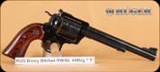 """Ruger - 44Mag - New Model Blackhawk Bisley - Rosewood Grips/Blued, 7.5""""Barrel, Mfg# 00831"""