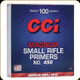 CCI - Small Rifle Magnum Primers - No. 450 - 100ct - 0017