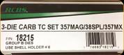 RCBS - 3 Die Carbide Pistol Set - 357Mag/Spl/MX - 18215
