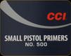 CCI - Small Pistol Primers - No. 500 - 100ct - 0014