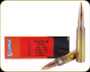 Lapua - 6.5x55 SE - 123 Gr - Scenar - Hollow Point Boat Tail - 20ct - 4316032
