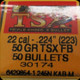 Barnes - 22 Cal - 50 Gr - TSX (Triple-Shock X) - Flat Base - 50ct - 30174