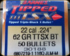 Barnes - 22 Cal - 62 Gr - TTSX (Tipped Triple-Shock X) - Boat Tail - 50ct - 30188