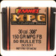 Barnes - 30 Cal - 150 Gr - Multi Purpose Green - Flat Base - 50ct - 30331