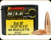 Barnes - 30 Cal - 150 Gr - M/LE TAC-X - Boat Tail - 50ct - 30337