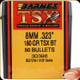 Barnes - 8mm - 180 Gr - TSX (Triple-Shock X) - Boat Tail - 50ct - 30396