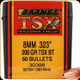 Barnes - 8mm - 200 Gr - TSX (Triple-Shock X) - Boat Tail - 50ct - 30398