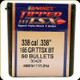 Barnes - 338 Cal - 185 Gr - TTSX (Tipped Triple-Shock X) - Boat Tail - 50ct - 30426