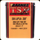 Barnes - 338 Lapua - 285 Gr - TSX (Triple-Shock X) - Boat Tail - 50ct - 30417