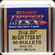 Barnes - 25 Cal - 80 Gr - TTSX (Tipped Triple-Shock X) - Boat Tail - 50ct - 30218