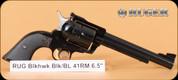 """Ruger - 41Mag - Blackhawk - Blk/Blued, 6.5"""" - Adj. Rear Sight - 6rd - Mfg# 00406"""