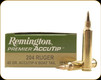 Remington - 204 Ruger - 40 Gr - Premier Accutip-V - Boat Tail - 20ct - 29220