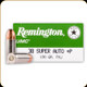 Remington - 38 Super +P - 130 Gr - UMC - Full Metal Jacket - 50ct - 23722