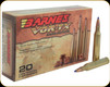 Barnes - 25-06 Rem - 100 Gr - VOR-TX - TTSX (Tipped Triple-Shock X) Boat Tail - 20ct - 21557