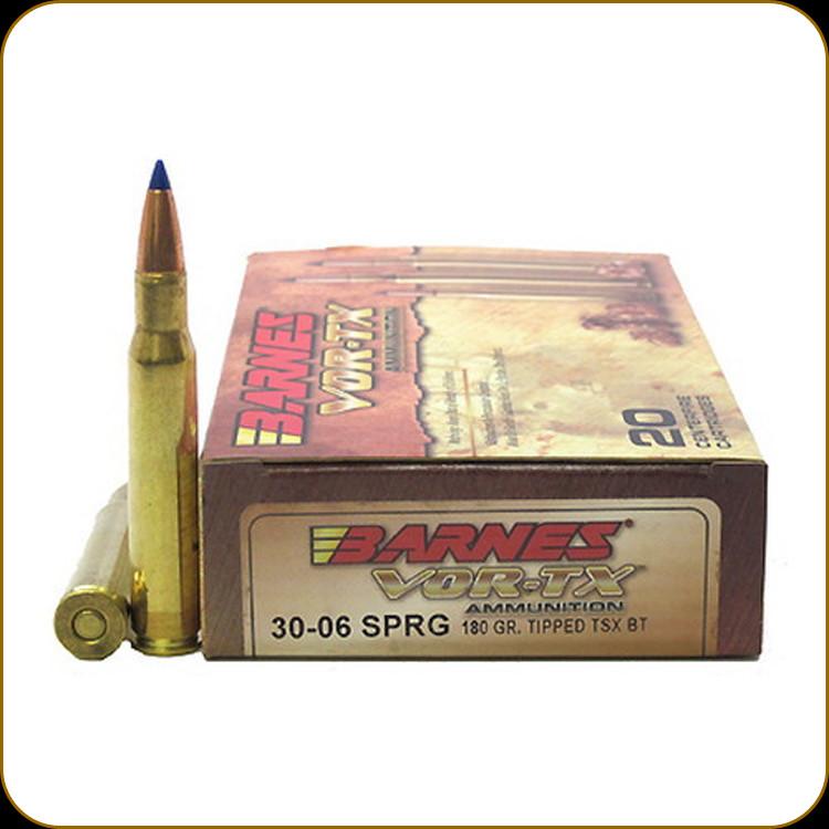 Barnes - 30-06 Sprg - 180 Gr - VOR-TX - TTSX BT - 20ct ...