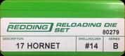 Redding - Full Length Sets - 17 Hornet - 80279