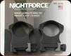 "NIGHTFORCE - XTRM - Ring Set - 1.375"" X-High - 30mm - Ultralite - 4 Screw - A110"