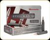 Hornady - 223 Rem - 52 Gr - Steel Match - HPBT - 20ct - 83262