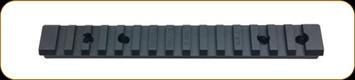 Ken Farrell - Howa 1500 Short Action - Steel - Matte Black - 20 MOA