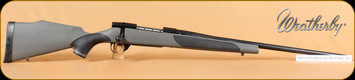 Weatherby - Vanguard S2 - 270Win - Blk/Gry Synthetic, Blued, 24""