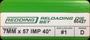 Redding - Full Length Sets - 7mmx57 AI - 80427