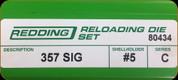 Redding - Full Length Sets - 357 Sig - 80434