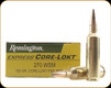 Remington - 270 WSM - 130 Gr - Express Core Lokt - Pointed Soft Point - 20ct - 28940