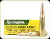 Remington - 7mm-08 Rem - 140 Gr - Express Core-Lokt - Pointed Soft Point - 20ct - 21337